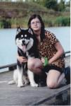Rose Bierlair - Malamute d'Alaska (14 ans)