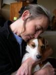 Chien Vasco, Parson Russell Terrier et sa maîtresse, Vascotte ;-) - Parson Russell Terrier  (0 mois)
