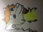 Kyra the wolf - Loup (1 an)